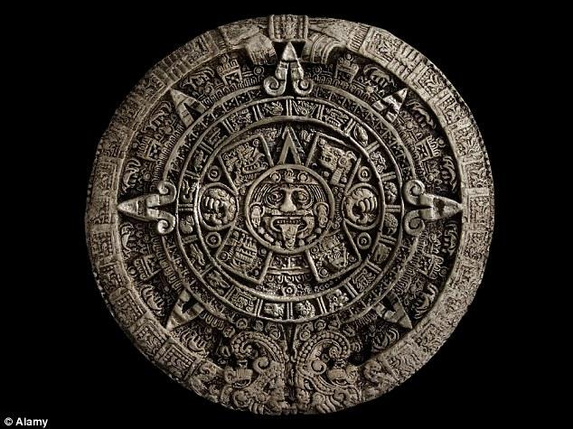 Календарь майя в оригинале